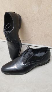 Derby Schuhe Herren festlich Gr