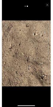 Verschenke Sand mit Kies