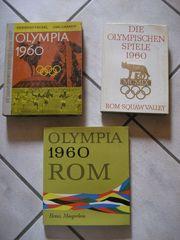 3 Bücher Olympische Spiele 1960