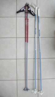 Langlauf-Stöcke 140 cm - geschenkt