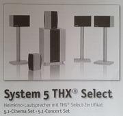 Wunderschöne Teufel System 5 THX