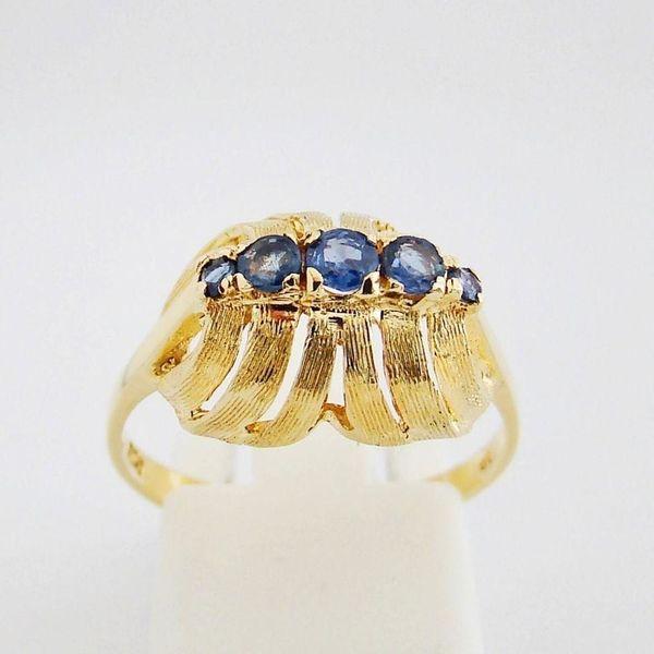 Ring Gold 750er Saphir 18