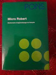 Micro Robert Dictionnaire d apprentissage