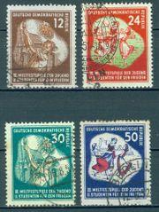 DDR gestempelt Nr 289-92