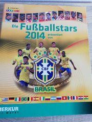 Album FUßBALLSTARS 2014 Brasilien