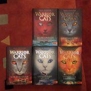 26 Warrior Cats Bücher zum