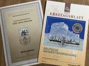 Ersttagsblätter 1990-2001
