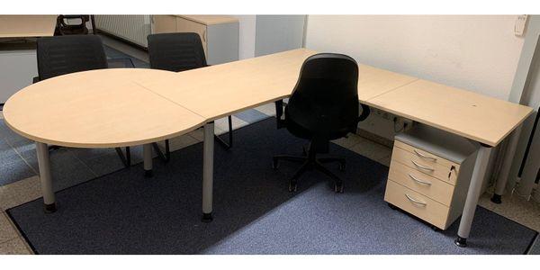 Schreibtisch Mit Besprechungstisch 2021