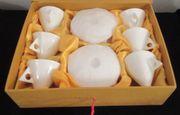 6 Stück Fine Bone China