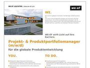 Projekt- Produktportfoliomanager m w d