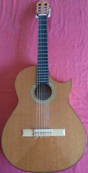 Launhardt Gitarre Modell Flamenco