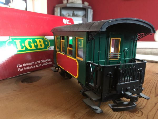 LGB 3007 Personenwagen grün Gartenbahn