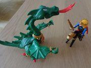 Playmobil Spielzeug grüner Drache mit