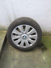 Winterreifen auf Stahlfelge BMW 1er