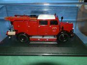 Modellauto Mercedes Benz Feuerwehr TLF
