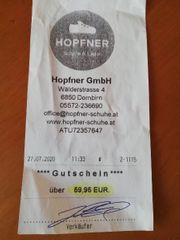 GUTSCHEIN Schuh Hopfner