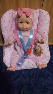 Wachsende Puppe mit Stoffsitz