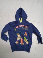 Sweatshirt mit Kapuze Gr 110