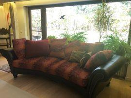 Polster, Sessel, Couch - 2xBig Wohnzimmersofas im orientalischen Stil