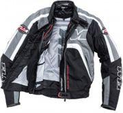 FLM Sports Textiljacke grau neuwertig