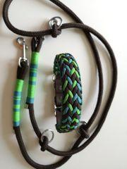 Paracord Halsband Hundehalsband Leine Tau
