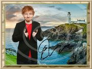 ED SHEERAN Irland Souvenir signiert