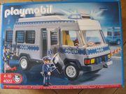 Playmobil 4022 Polizei Mannschaftswagen