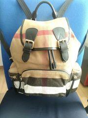 Burberry Rucksack Backpack Medium Canvas