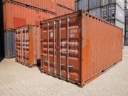 20ft Lagercontainer Seecontainer Schiffscontainer gebraucht