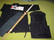 Biete Kinder-Starter-Set für Kendo-Sport - neuwertig -
