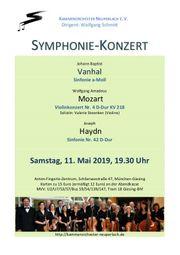MitstreicherInnen für Sinfoniekonzert am 11