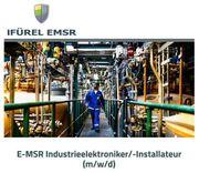 E-MSR Industrieelektroniker -Installateur m w