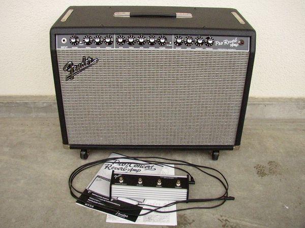 Fender Pro Reverb Tube Amp