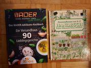 Kochbuch und Zimmerpflanzenbuch