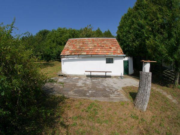 Wald und Haus in Ungarn