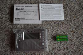 Bild 4 - Korg TM-40 Stimmgerät und Metronom - kaum - Winnenden