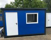 Bürocontainer Gartenhaus Baustellencontainer -neu - auch