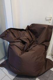 Kinzler Riesensitzsack 140x180 cm braun