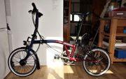 Fahrrad BROMPTON Ausgabe Nine Streets