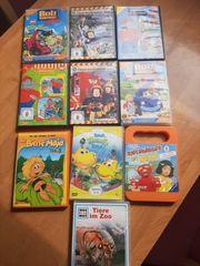 10 DVDs Kinderfilme siehe auf