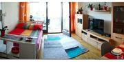 Einzimmer Wohnung voll möbliert