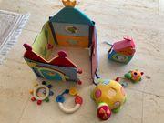 Babyspielzeug 5-teilig 4x HABA 1x