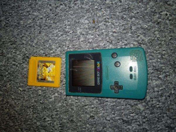 Game Boy color plus Spiel