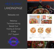 Webseite für Restaurants Imbiss Foodtruck