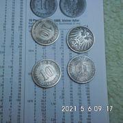 10 Reichspfennig großer Adler bis
