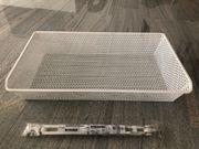 4 neue Netzdrahtkörbe Ikea Komplement