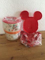 Mickey Maus Set Tupperware