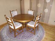 Essgruppe - Esstisch mit vier Stühlen