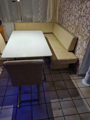 eckbank nit Tisch zum ausziehen