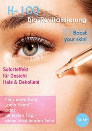 Bio-Revitalisierung mit H-100 boost your